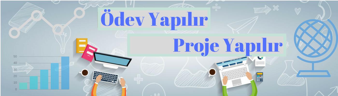 Ödev Proje Yapilir